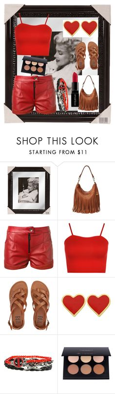 """""""M&M"""" by fatimka-becirovic ❤ liked on Polyvore featuring Frye, Magda Butrym, WearAll, Billabong and Smashbox"""