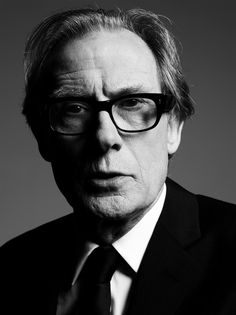 William Francis 'Bill' Nighy (1949) - English actor. Photo by Ben Hassett