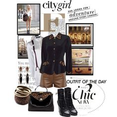 citygirl, created by lisamichele-cdxci on Polyvore