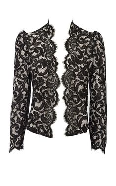 Lace jacket by Karen Millen