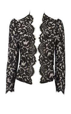 Lace jacket by Karen Millen
