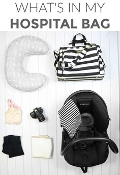What I packed in my diaper bag for my 2nd baby. I figured out what was essential and what was missing from my bag the first time around!   what to pack when having a baby   hospital bag must haves   how to pack a hospital bag for mom and baby    Katie Did
