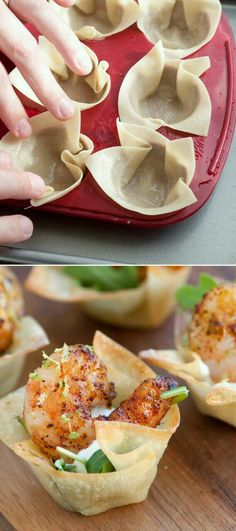 Chili Lime Shrimp Cups Appetizer Recipe via inspired taste - The Best Easy Party Appetizers and Finger Foods Recipes - Quick family friendly snacks for Holidays, Tailgating and Super Bowl Parties! paleo for beginners recipes Snacks Für Party, Appetizers For Party, Halloween Appetizers, Delicious Appetizers, Shrimp Appetizers, Healthy Appetizers, Christmas Appetizers, Cold Party Food, Appetizer Ideas