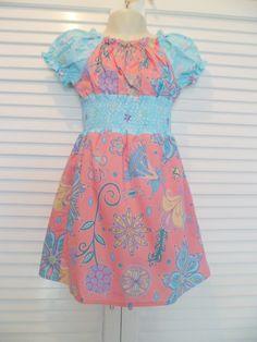 Hetty Dress  Pattern from FemiKidsCouture