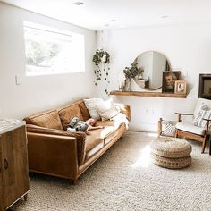@emilyfaith22  Boho minimalist home decor  Article timber sofa  IKEA home decor