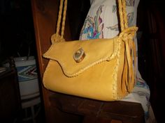 Hand Laced Deerskin SET fully lined in off by DaJaDelights on Etsy, $333.00