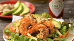 Ensalada de Camarones Marinada en Tequila y Salsa TABASCO(R)   Recipes   TABASCO.COM