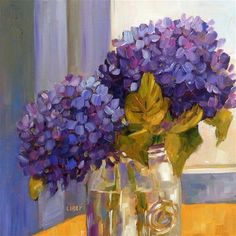 """Daily Paintworks - """"Window Color"""" by Libby Anderson"""