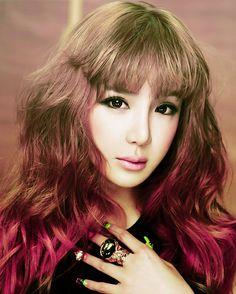 Park Bom,2ne1,kpop,k-pop,gradation