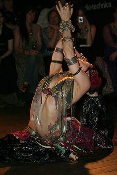 Rachel Brice - Tribal Fusion Bellydancer  So gorgeous. I should do some yoga.