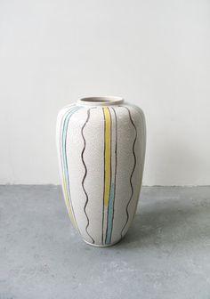 Vintage Scheurich Keramik West German Large by WestEstShop on Etsy