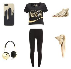 Coco Cola by kaywisorbet on Polyvore featuring polyvore, fashion, style, Splendid, Madden Girl, Zero Gravity and Frends