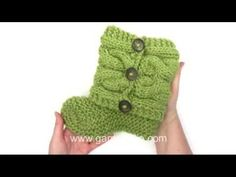 DROPS Knitting Tutorial: How to knit and sew up the slippers in Drops 150-4 - YouTube