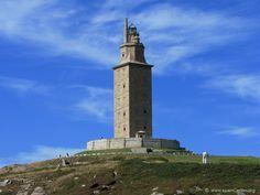 Torre de Hercules, A Coruña, Galicia, España