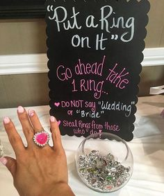 Such a perfect game for the bridal shower or bachelorette party! || Shared By: @beecamara_xo