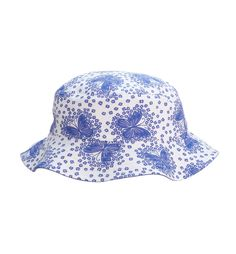 Mothercare Indigo Butterfly Fisherman Hat