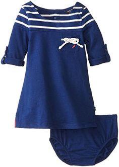Nautica Baby-Girls Infant Long Sleeve Engineer Stripe Dress, Medium Navy, 12 Months Nautica http://www.amazon.com/dp/B00KJKZ2KY/ref=cm_sw_r_pi_dp_CdZoub10BMERQ