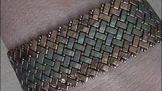 half tila herringbone bracelet - YouTube