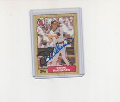 Doug decinces california #angels 1987 topps signed #autograph #photo card,  View more on the LINK: http://www.zeppy.io/product/gb/2/122304796560/