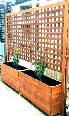 patio trellis planters privacy screens outdoor planter boxes with trellis privac. patio trellis planters privacy screens outdoor planter boxes with trellis privac. Patio Decor, Planter Box With Trellis, Terracotta Planter, Climbing Trellis, Privacy Screen Outdoor, Diy Privacy Screen, Wood Patio