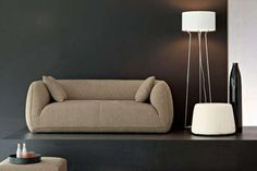 Stylish Plushy Seating - The Fashion Supersoft Sofa by Paolo Lucidi and Luca Pevere (GALLERY)