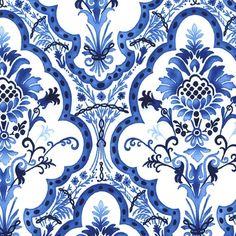 Michael Miller fabric: Tourjours Bleu et Blanc