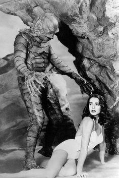 Creature from the Black Lagoon. Julie Adams, Ben Chapman.