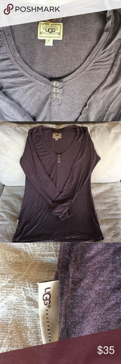 UGG comfort shirt Ugg long sleeve lightweights shirt,Very comfortable,worn a couple times ,in a great condition. UGG Tops Tees - Long Sleeve