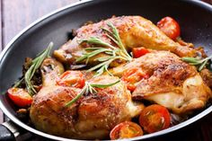 Dr. Matt Nguyen's Pan-Roasted Chicken With Roasted Broccoli-Quinoa Salad   The Dr. Oz Show