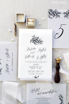 Donatella Vellum Elegant Wedding Invitation Sets Vellum