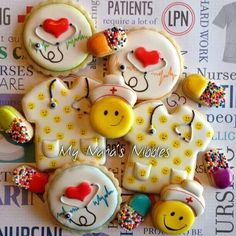 Nurse Cookies | My Nana's Nibbles