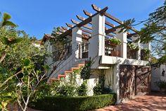Over-garage apartment in 1927 Spanish Revival home (La Jolla, Calif).