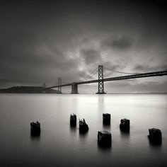 Long-Exposure #Photography. love the black & white capture of this photo.