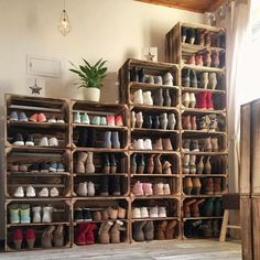 Shoe storage design Amazing 41 Affordable DIY Shoe Storage for Small Space thearchitectureho.