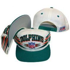 63a8731366c Miami Dolphins Vintage Diamond White Aqua Two Tone Snapback Adjustable  Plastic Snap Back Hat