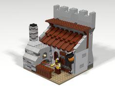 Forno medievale LEGO