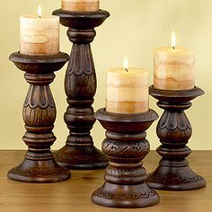 What romantic evening isn't complete with out candles? Love these warm, exotic candle holders.