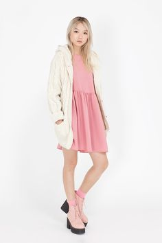 Button-Cuff Angel Dress Pink http://www.thewhitepepper.com/collections/dresses/products/button-cuff-angel-dress-pink Leather Round Toe Walker Boot Pink http://www.thewhitepepper.com/collections/shoes/products/leather-round-toe-walker-boot-pink