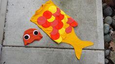 Ropa Upcycled Steampunk oro pescado traje  Upcycled naranja