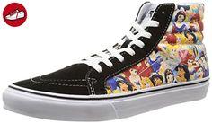 Vans U Sk8-hi Slim Disney, Unisex-Erwachsene Sneakers, Mehrfarbig (disney/multi Princess), 37 EU (*Partner-Link)