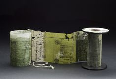 Yuko Kimura - Book Art Projects - thinking outside the book (box). Altered Books, Altered Art, Collages, Ouvrages D'art, Libros Pop-up, Stitch Book, Book Sculpture, Paper Artwork, Handmade Books