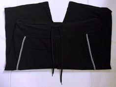 Danskin Black Cotton Blend Stretch Athletic Bermuda Shorts - 2X #Danskin #Athletic