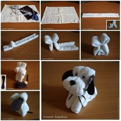 Perfect DIY Ideas: The Perfect DIY Adorable Towel Puppy - The Perfect...