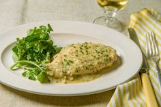 Velvet Chicken Breast With Mustard Sauce by David Tanis