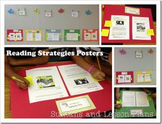Readworks Passages + Strategy Cards and Post-Its. Fun and easy test prep!