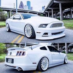 Custom Wide body Mustang GT 5.0 drifting snow edition