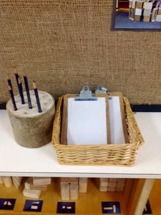 Leave clipboards, paper and pencils in the building area for students to sketch and label their structures.