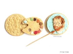 Whoa... Van Gogh and other famous works of art on OREO cookies.