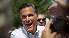 108 Romney, GOP raise $170.4 million in September    FILE: June 8, 2012: Supporters of Mitt Romney reaches out to shake his hand during a campaign stop in Council Bluffs, Iowa. (AP)    Oct. 15, 2012