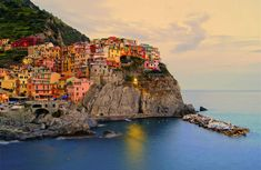 Manarola is a small town in northern Italy. It is the second smallest of the famous Cinque Terre towns frequented by tourists. Photo by: Jennifer Barrow